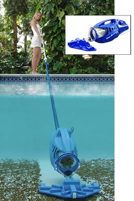 water pool brush cleaner